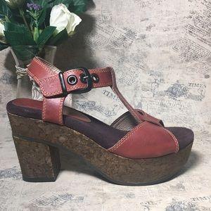 OTBT leather Sandals platform